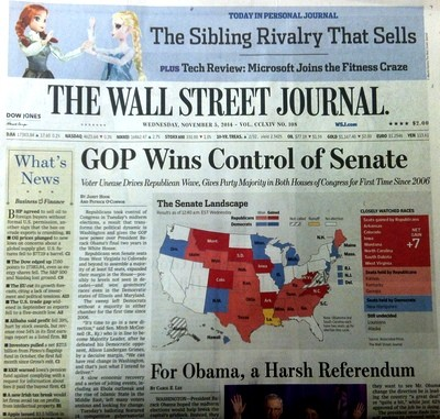 Wall Street Journal 110514