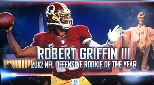 RG3 still Redskins QB1 #HTTR