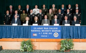 U.S. Army War College - 2012 NSS Seminar 1