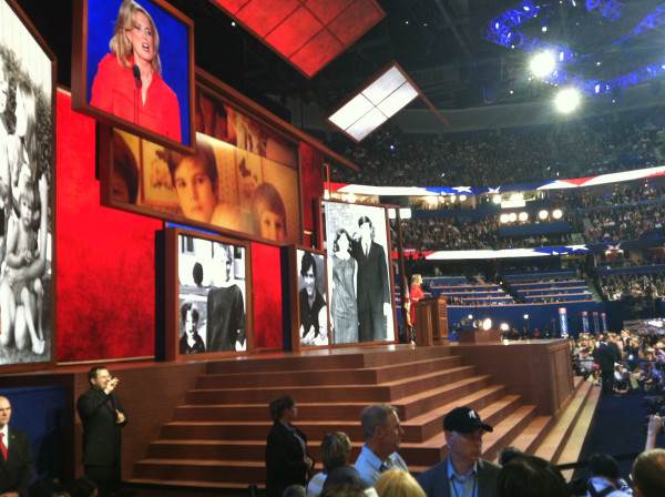 You can trust Mitt! -- Ann Romney on stage at #GOP2012
