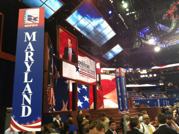 RNC Chairman gavels out. #GOP2012