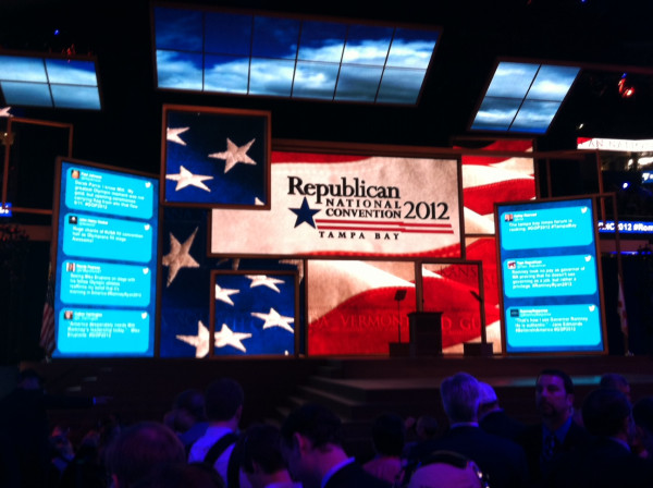 LIVE tweets from the @GOPconvention stage. #GOP2012
