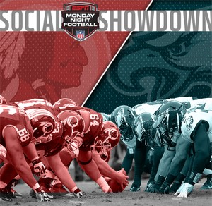 Redskins Eagles Social Showdown