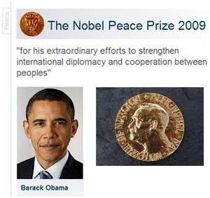 The Nobel Peace Prize 2009