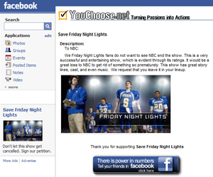 Facebook: Friday Night Lights